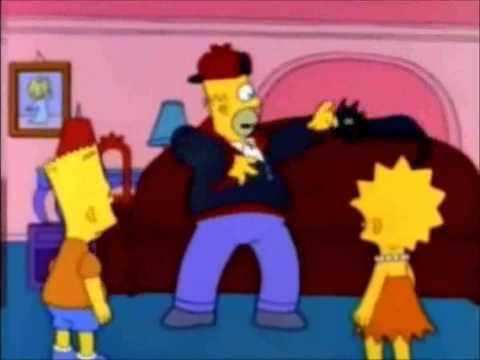 Homer Simpsons - Da ponte pra cá