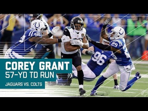 Corey Grant Explodes for a 57-Yard TD Run! | Jaguars vs. Colts | NFL Week 17 Highlights