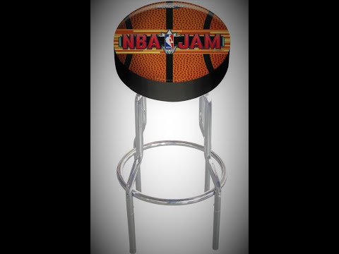 Arcade1up Stools under $50 Includes NBA JAM, TMNT, and MARVEL from Arcade Will
