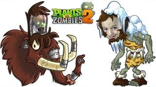 Plants vs Zombies 2 Растения против Зомби 2 ЗомБосс Отмороженые Пещеры ZOMBOSS Frostbite Caves