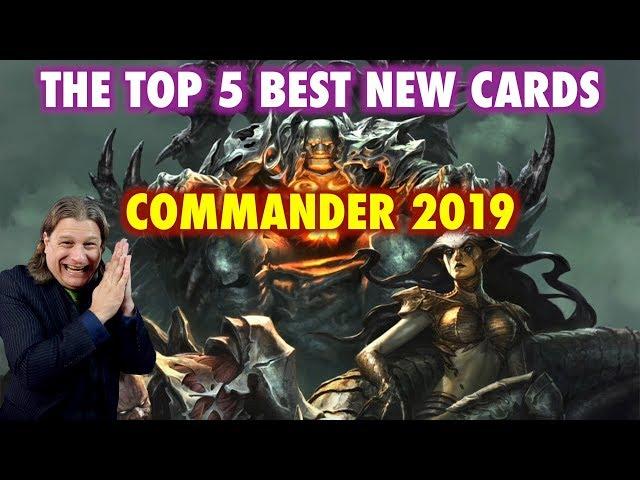 mtg commander 2019 video, mtg commander 2019 clip