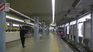 西武鉄道10112F 特急小江戸号西武新宿行並び 本川越1番発車