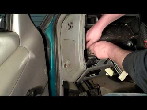 Chevy S10 Headlight Switch & Wiring Repair DIY - YouTube on