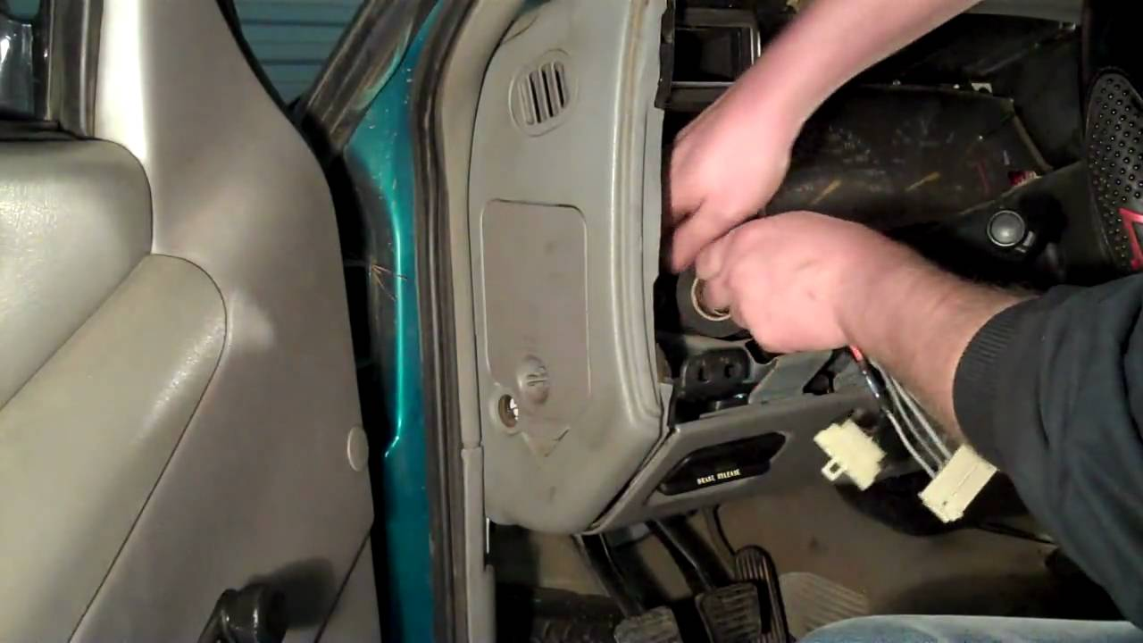 Chevy S10 Headlight Switch & Wiring Repair DIY - YouTube