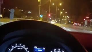 #Gece araba sürme keyfi
