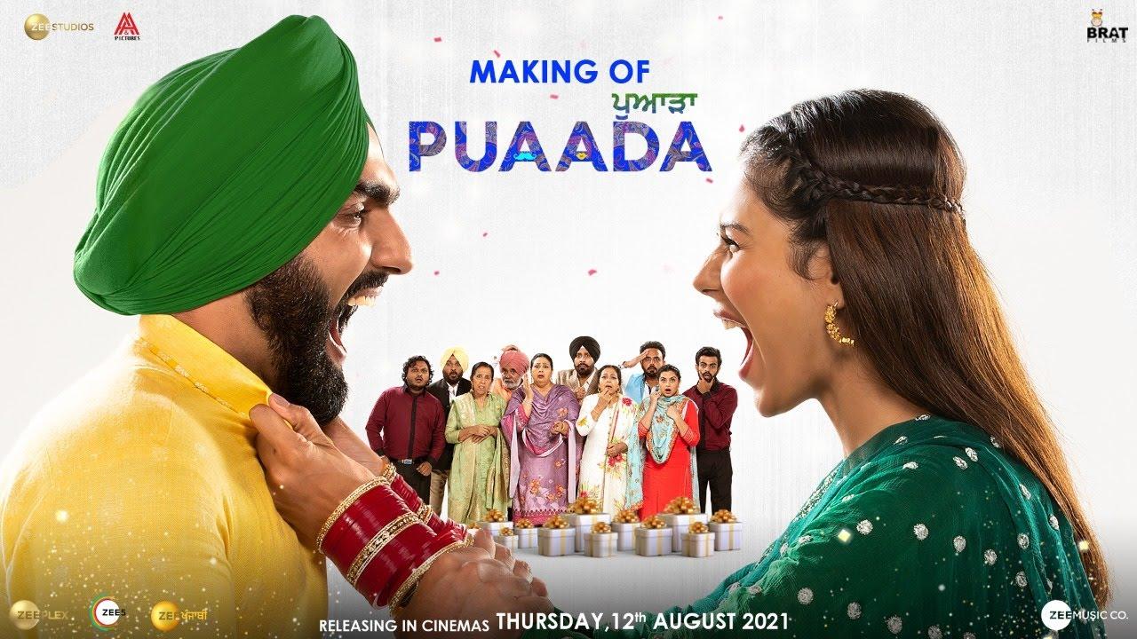 Download Puaada | Making | Ammy Virk | Sonam Bajwa | 12 August | Punjabi Movie 2021