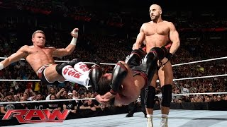 Tyson Kidd & Cesaro vs. The Ascension: Raw, May 4, 2015