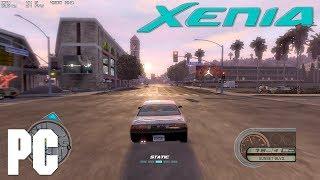 XBOX 360 emulator Midnight Club Los Angeles on PC XENIA MCLA