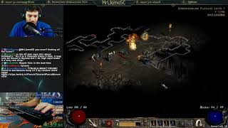 Diablo 2 - HC Hell Assassin Speedrun Attempt (11/28/2017)