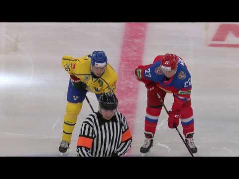 Турнир четырех наций U20. Швеция - Россия