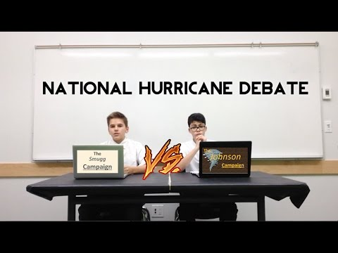 National Hurricane Debate