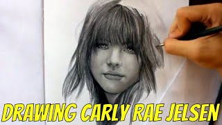 Drawing Carly Rae Jepsen By Juan Andres