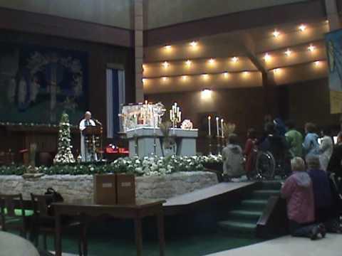 Eucharistic healing service Ireland