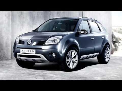 Renault Koleos 2006concept Car Youtube