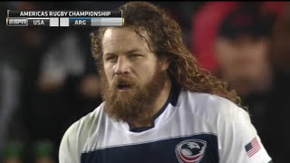 USA Eagles rugby vs Argentina Rugby 2016 full match ARC  Round 1