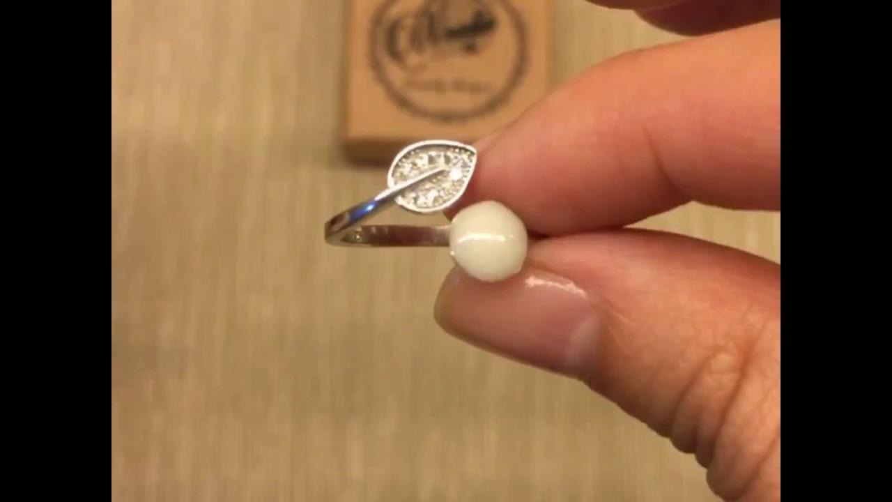 Woodie Pie Breastmilk Jewelry Leaf Ring Youtube