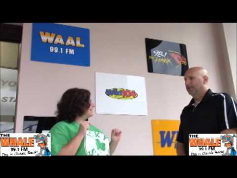 99.1 The Whale Challenges Glenn and Traci from the 98.1 the Hawk Morning Show!