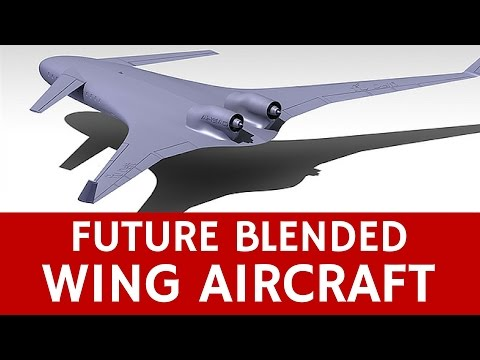 Blended Wing Passenger Aircraft of the Future: AHEAD Concept
