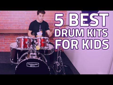 Top 5 Best Kids Drum Sets That Actually Sound Great! Cool Drum Kits For Younger Players