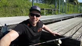 Адреналин Рыбалка на сома с помощью рыбацкого плота Belly boat