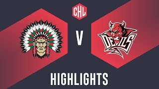 Highlights: Frölunda Indians Vs. Cardiff Devils
