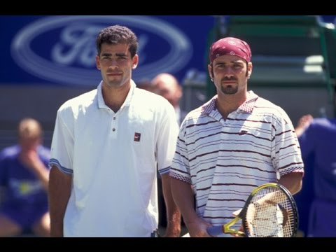 Andre Agassi VS Pete Sampras Highlight 1995 AO Final