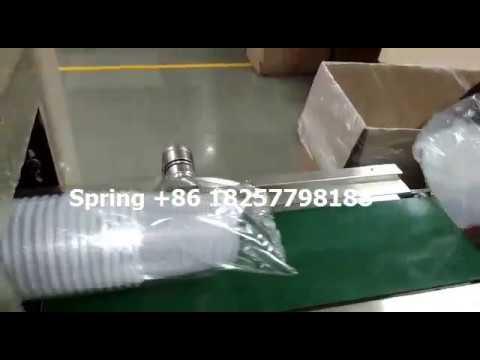 Dubai plastic cup automatic wrapping machine