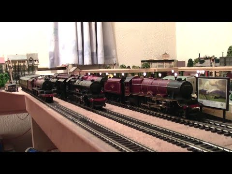 Double Heading The Beautiful Princess Class Pacific's & More! Hornby Triang.