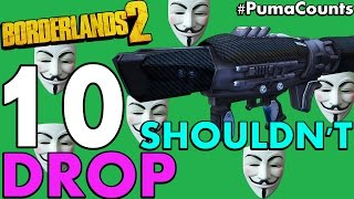Top 10 Hacked Guns and Weapons that Should Never Drop in Borderlands 2 Gun Guide PumaCounts