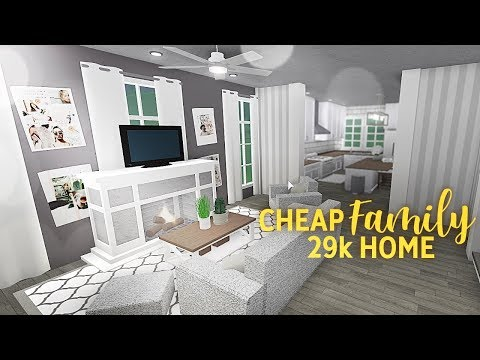 Roblox | Bloxburg | Cheap Family Home 29k