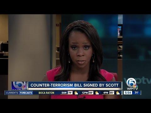 Florida Gov. Scott signs anti-terrorism measure