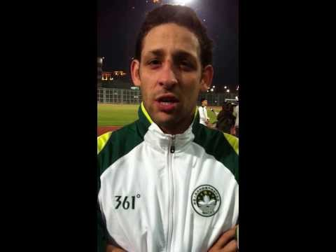 Macau 4x0 Guangdong (post match interview with striker Nicholas Torrão)