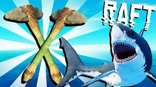 NEW STONE AXE and Eagle? - Raft Gameplay