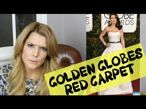 GOLDEN GLOBES FASHION REVIEW // Grace Helbig