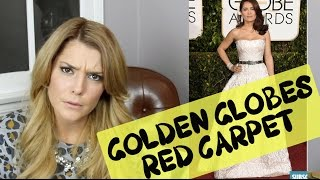 GOLDEN GLOBES FASHION REVIEW // Grace Helbig Thumbnail