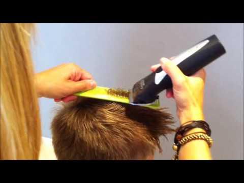 Pasos para corte de cabello con maquina