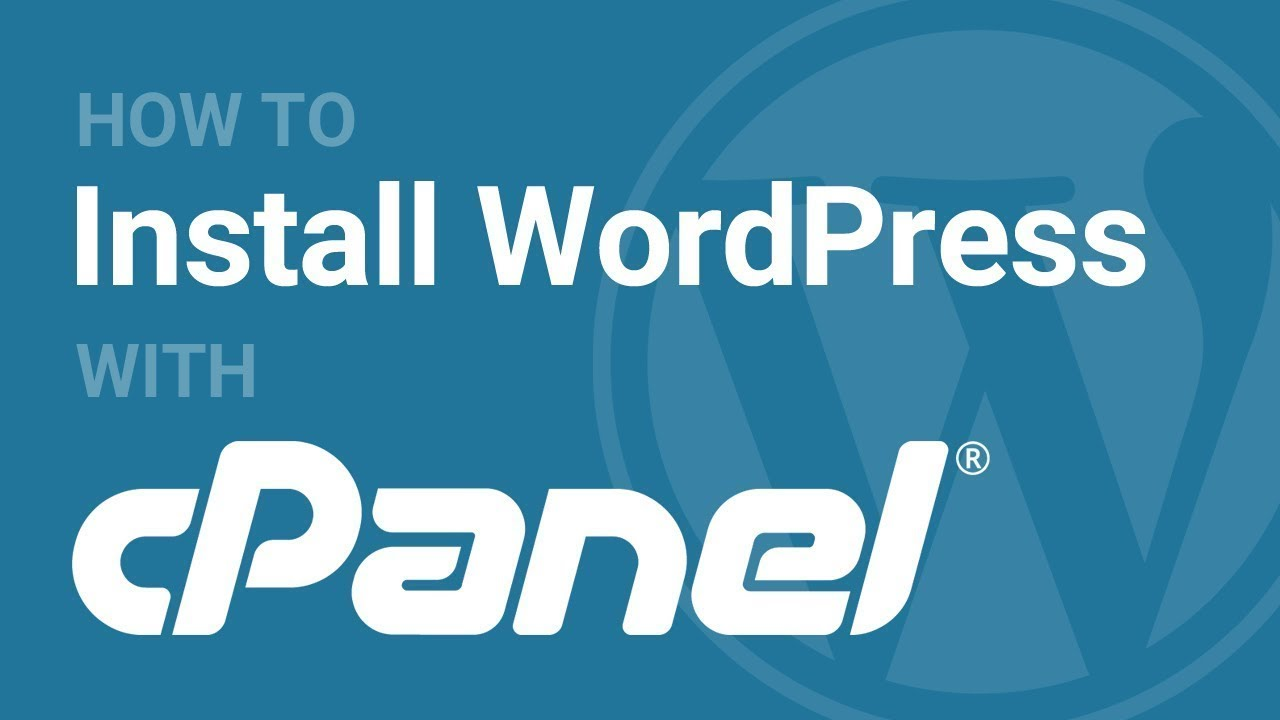 How To Install WordPress in Cpanel (WordPress)-Part 1