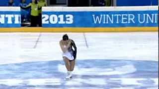 Saya UENO JPN LP Winter Universiade 2013