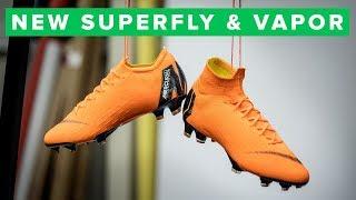 Nike Mercurial Superfly 6 and Nike Mercurial Vapor 12 Elite Tech Ta...