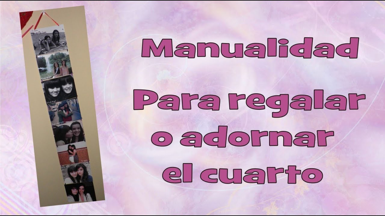 Manualidades para regalo o para decorar tu cuarto milycreativity youtube - Manualidades para decorar habitacion ...