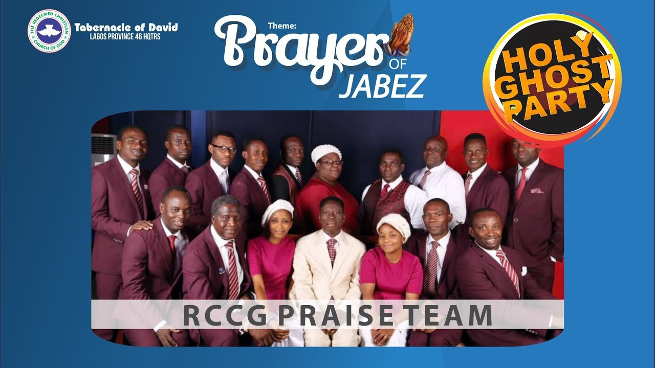 Praise Team @the Holyghost Party Friday 28th June 2019