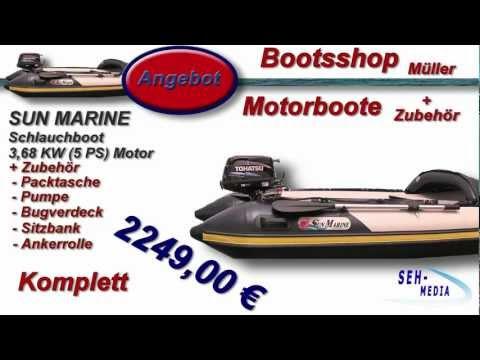 Sun Marine Schlauchboot