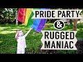 🏳️🌈 New York City Pride   Rugged Maniac - Lesbian Moms 🌈