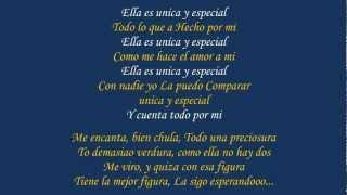 Unica Y Especial (Fantasma 2) ♪Letra/Lyrics♪ - Zion Y Lennox [La Formula] ★Reggaeton 2012★