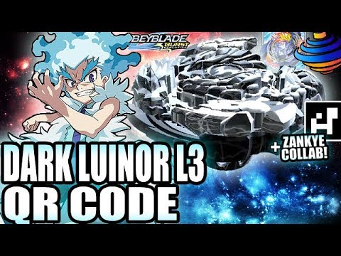 QR CODE DARK LUINOR L3 + ZANKYE COLLAB! - BEYBLADE BURST APP QR CODES