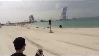Dubai Burj al arab Beach