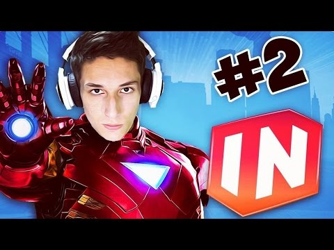 Disney Infinity 2.0 Marvel Gameplay #2 ЖЕЛЕЗНЫЙ ЧЕЛОВЕК (Toy Box)