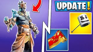 Fortnite 7.30 Fuites! Nouvelle chute de neige Prisoner Skin, Wraps, Emotes