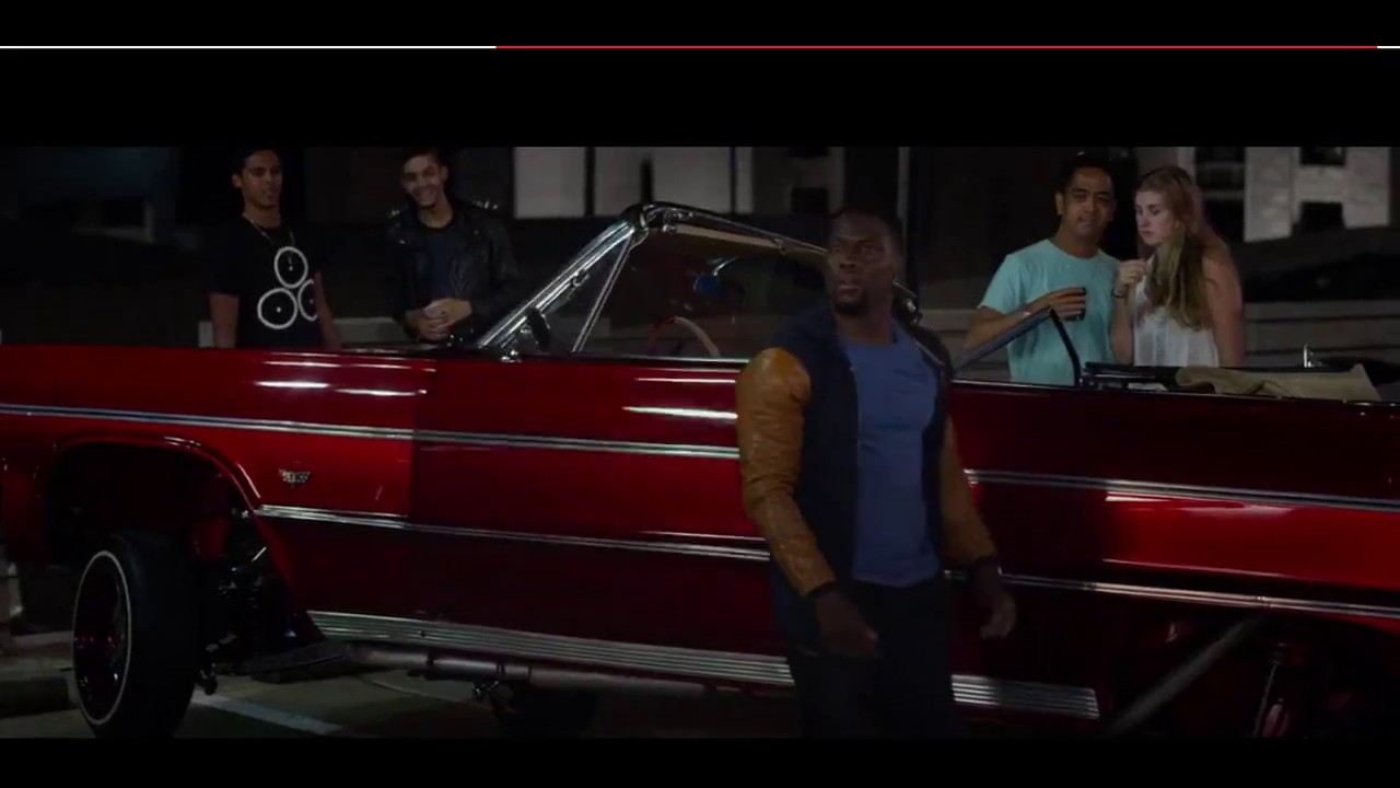 Ride Along 2 Kevin Hart Car Scene Youtube