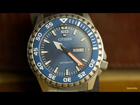 Citizen NH-8389 Automatic Review - An Almost Great Watch!!